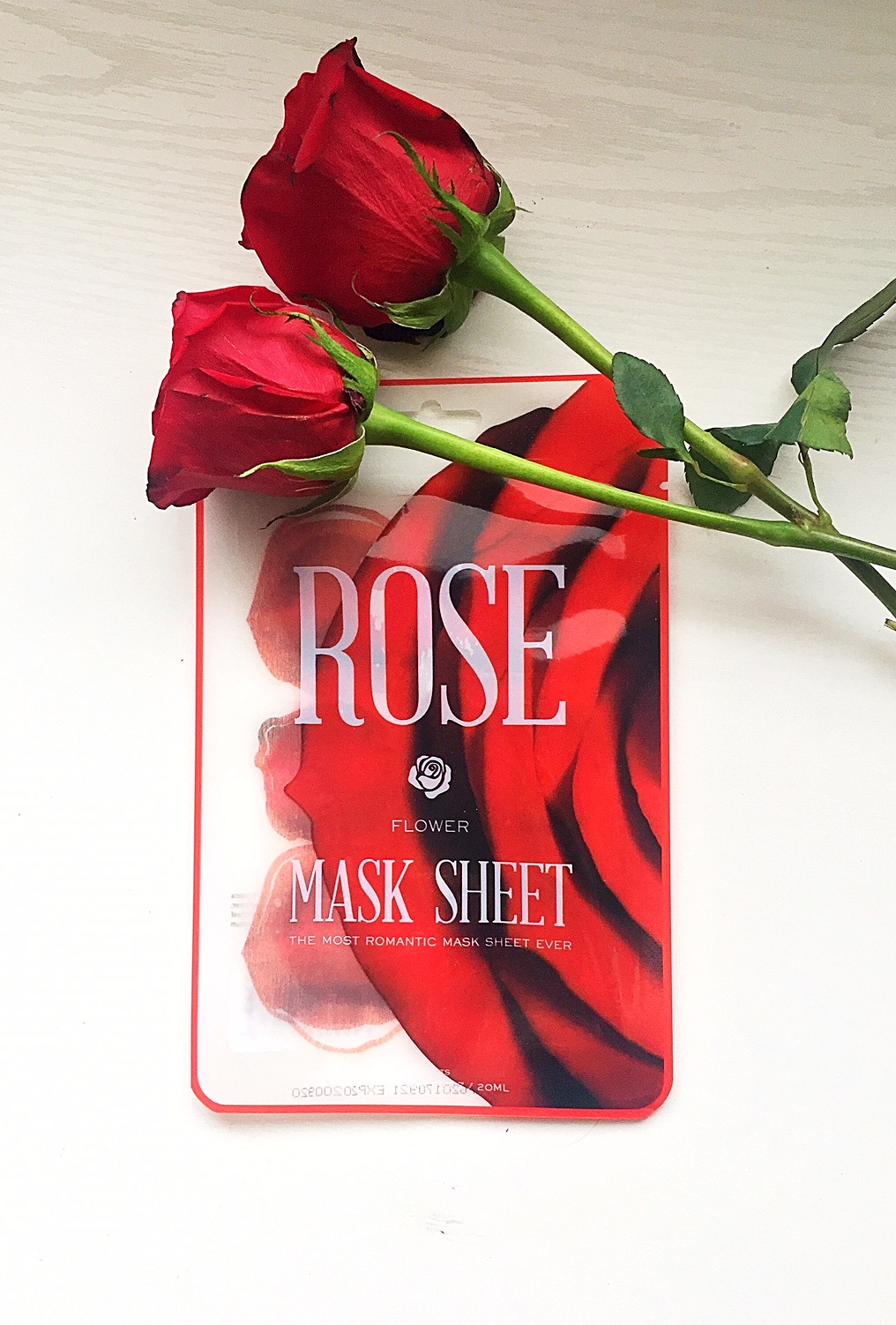 Target Find – Rose Flower Mask Sheet