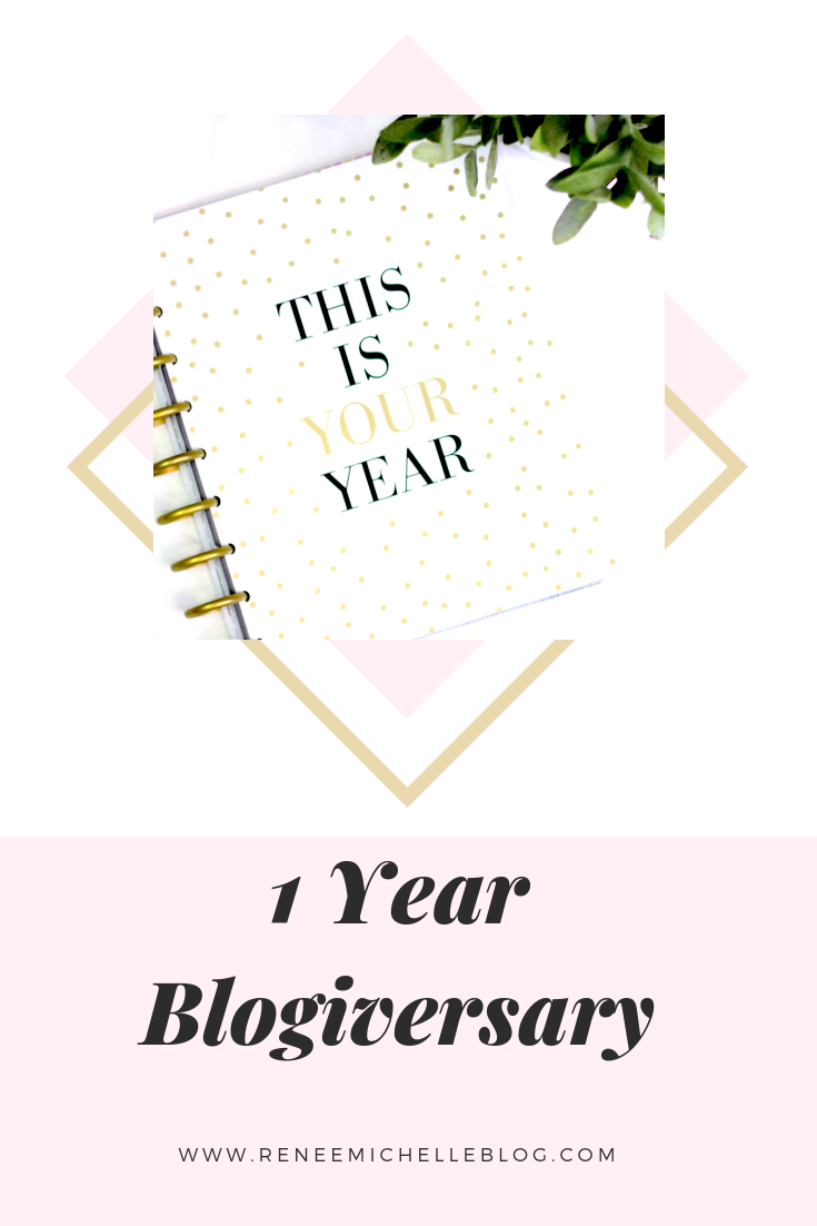 My ONE Year Blogiversary