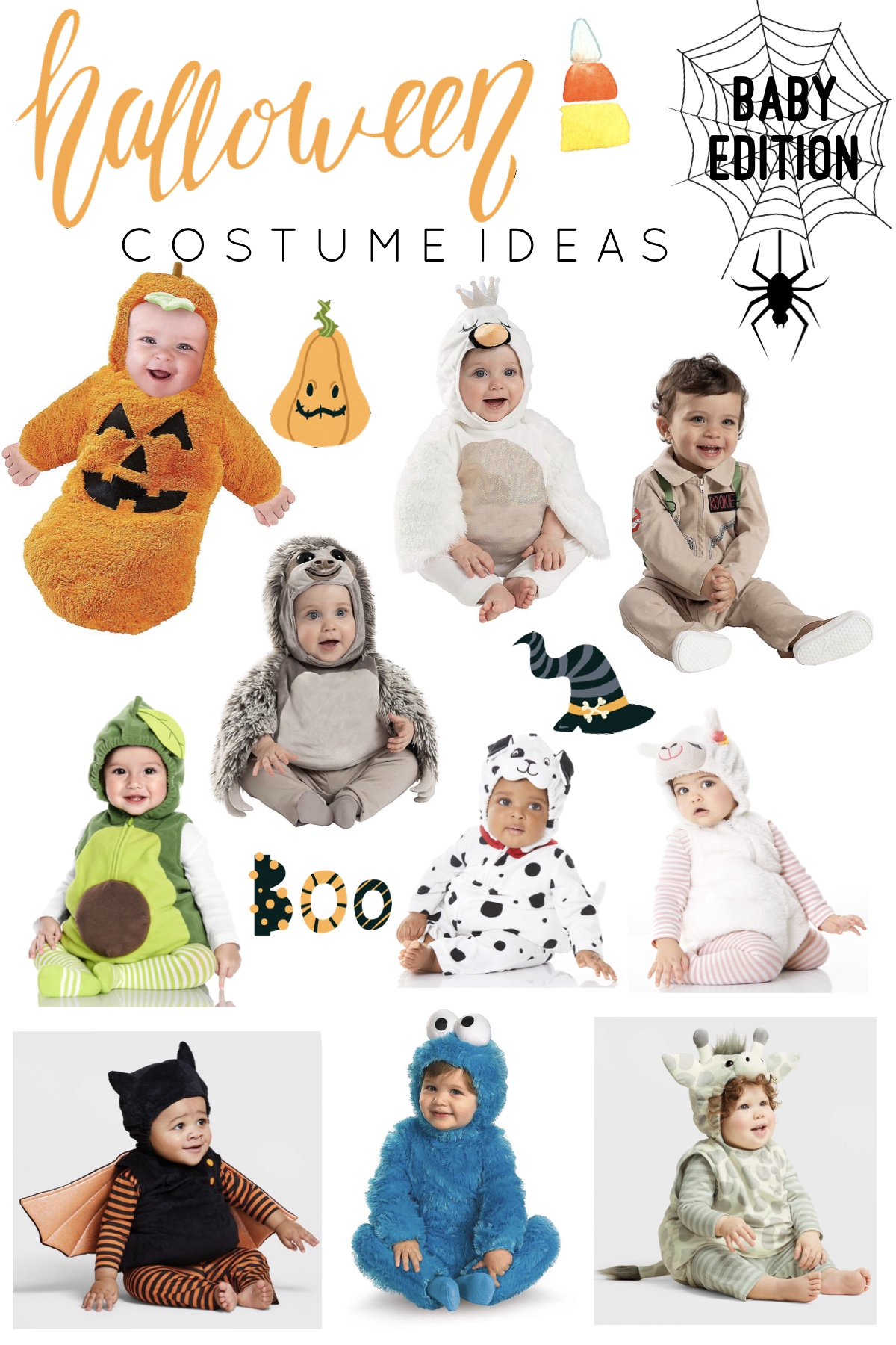 Halloween Costume Ideas for Kiddos – Baby Edition