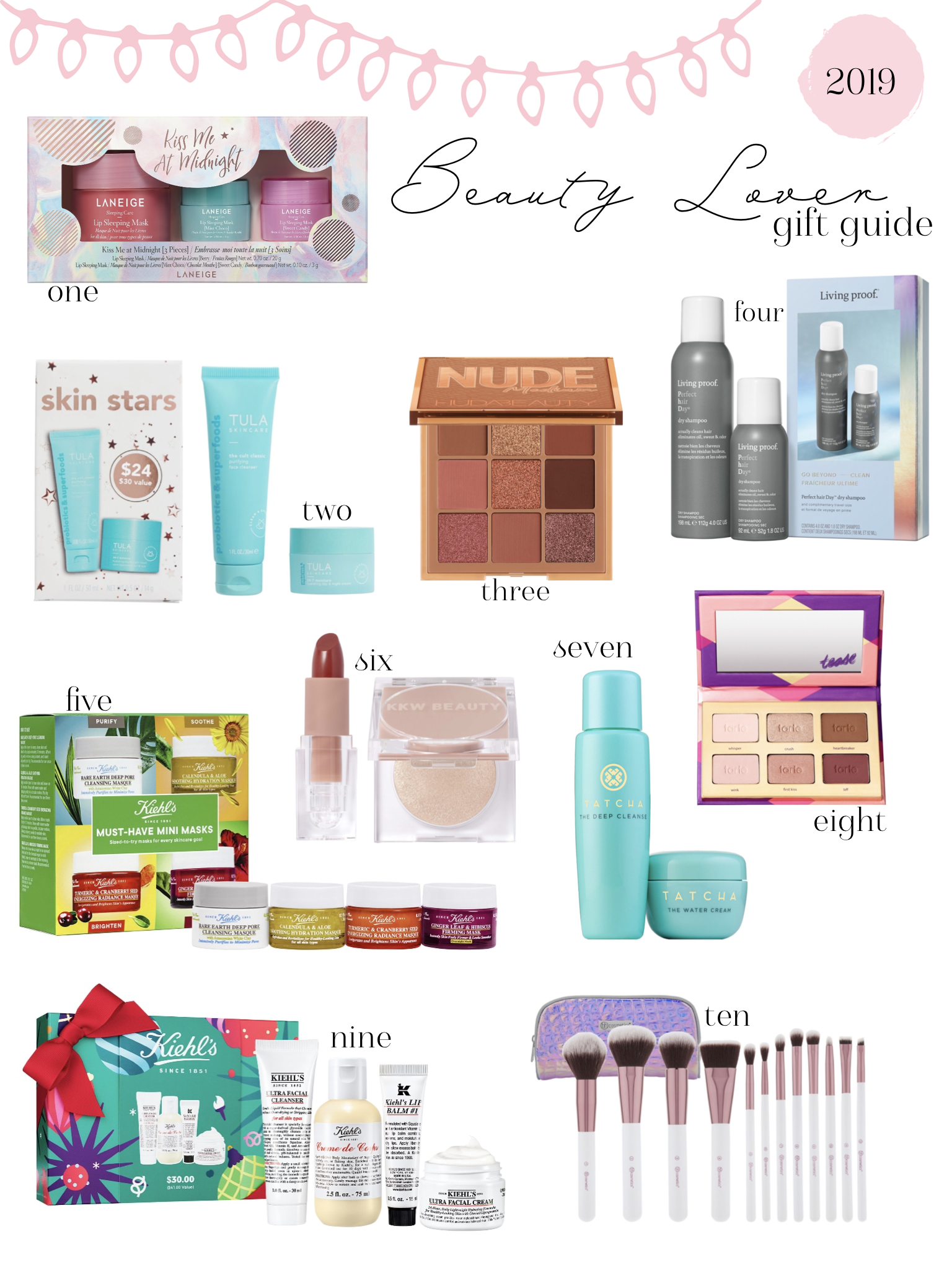 Affordable Gift Guide For The Beauty Lover