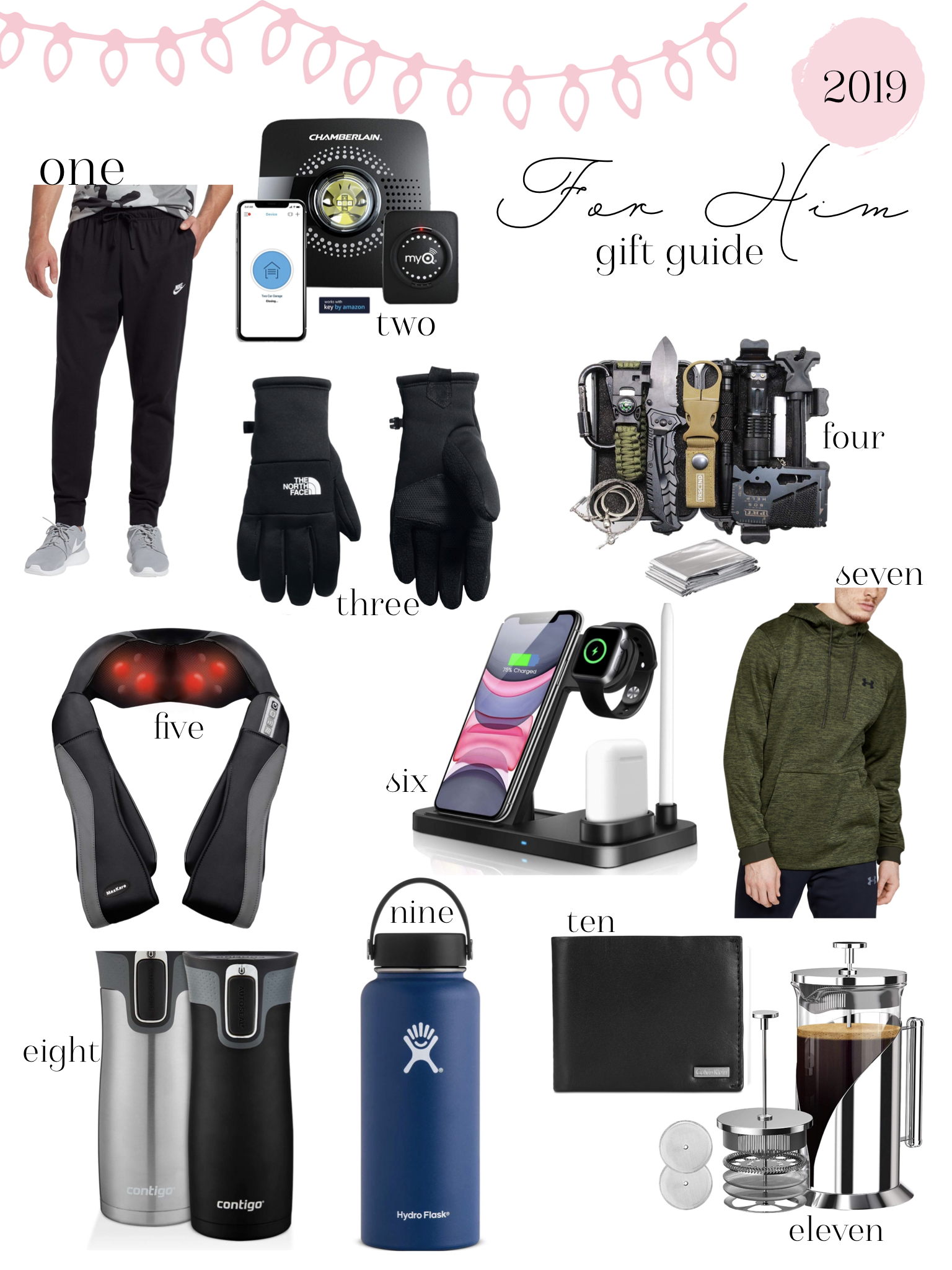 Affordable Gift Guide For Him