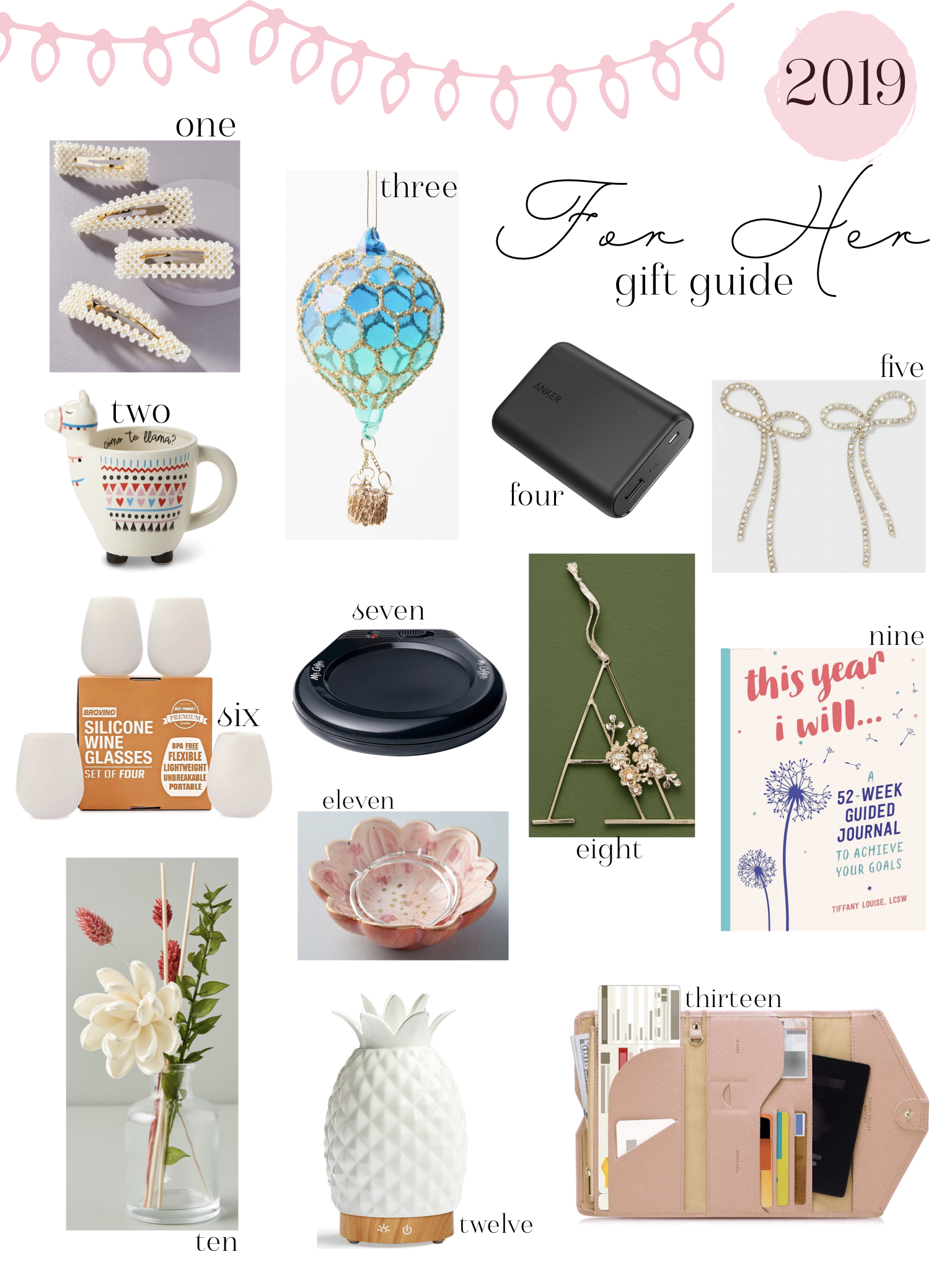 Affordable Gift Guide For Her