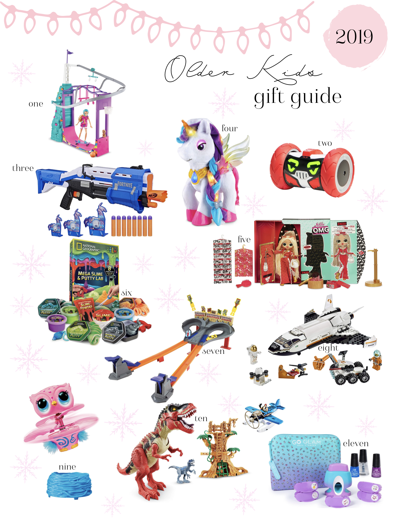 Affordable Gift Guide For Older Kids