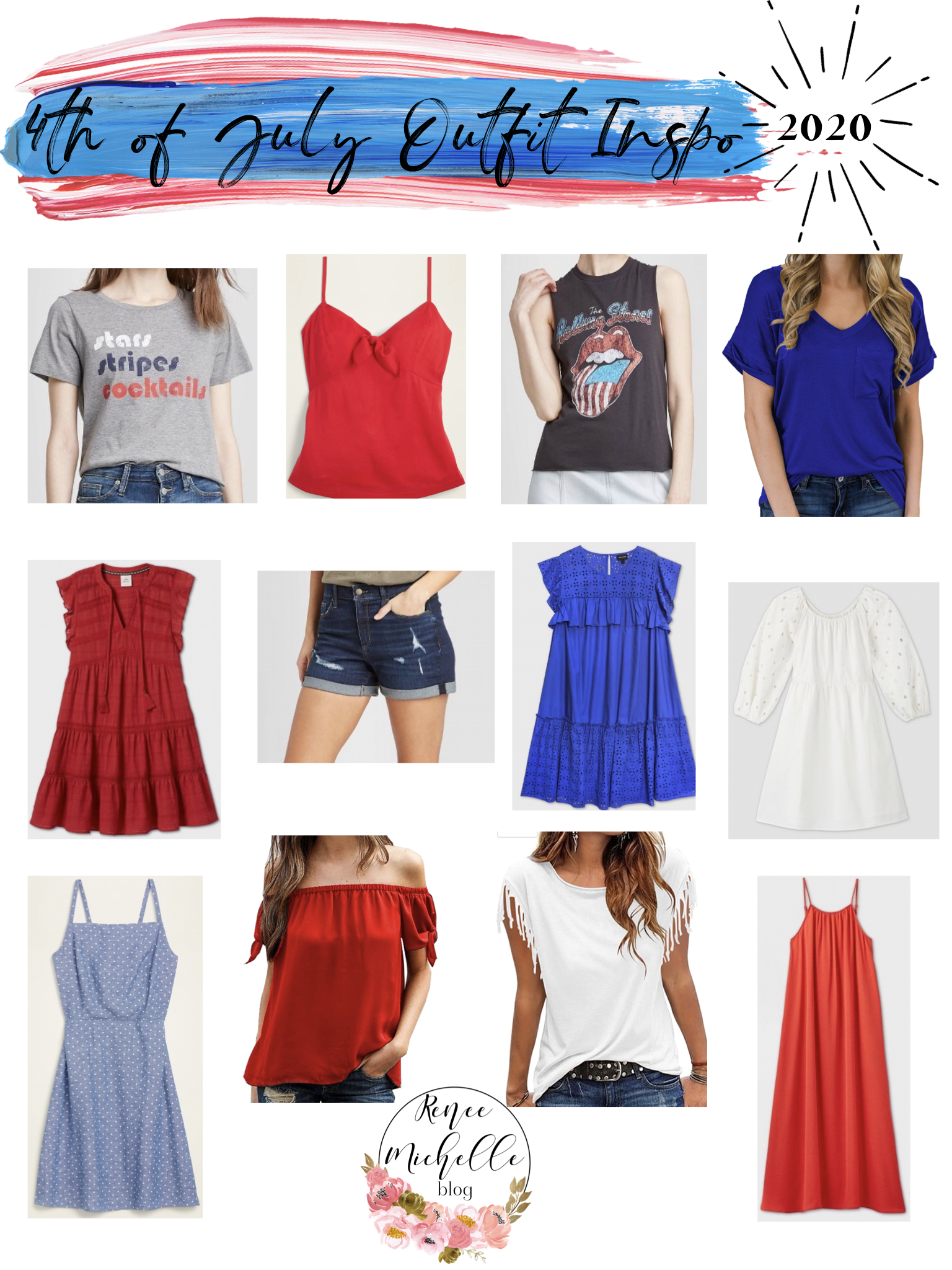 4th of July Outfit Inspo